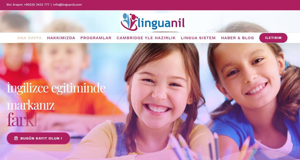 kurumsal web sitesi tasarımı lingunil.com