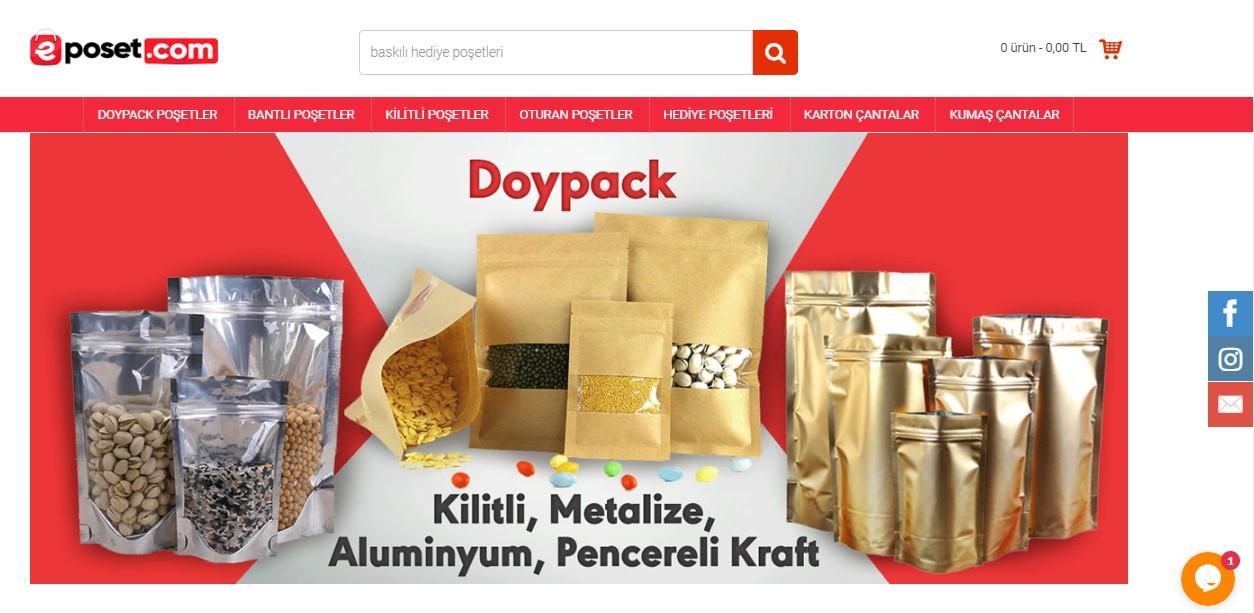 e-ticaret site tasarimi eposet.com